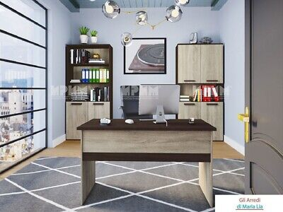 Arredamento ufficio completo modello City 9030 design elegante, moderno
