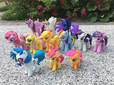 "Geniune My Little Pony MLP 2"" Toy Figures Choose Favorite Characters New Loose"