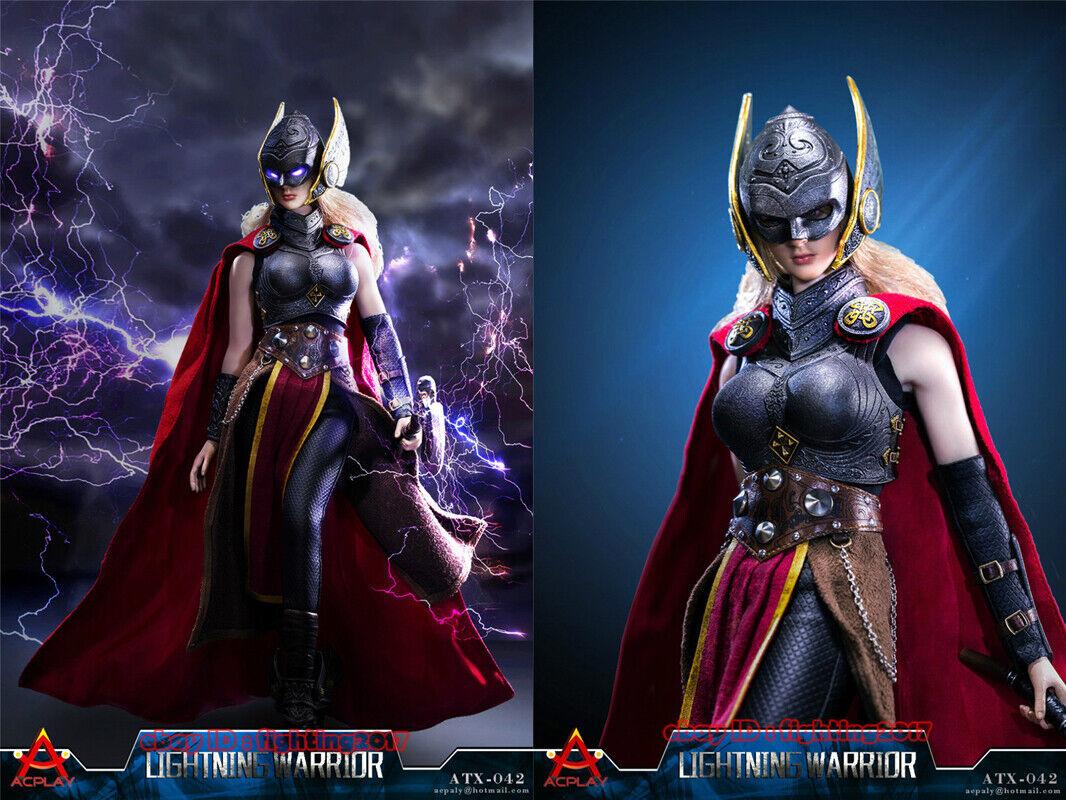 ACPLAY ATX042 Female Lightning Warrior 1//6 Action Figure Clothing With Head Set