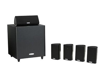 Polk Audio RM705 BLACK 5.1 RM SAT & Subwoofer System  NEW