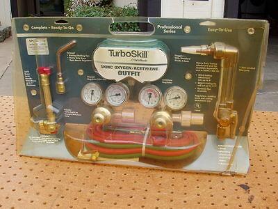 Turboskill Turbo Torch Skmc Oxygen Acetylene Outfit Professional Plumbing New