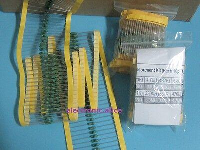 20 Value 400pcs 1uh-4.7mh 12w Color Wheel Inductor Assortment Kit Each 20pcs