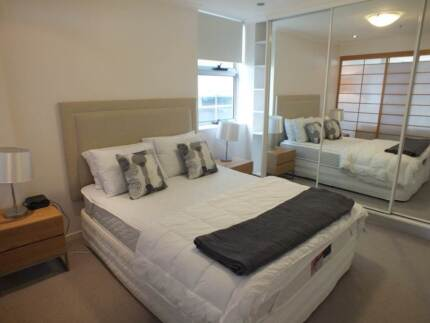 Fully Furnished 1 bedroom apartment available NOW New Farm Brisbane North East Preview