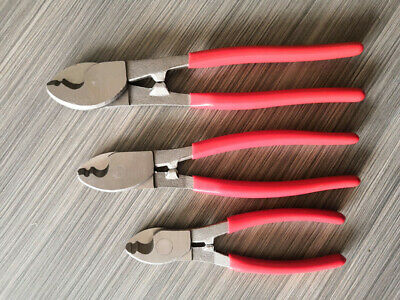6 8 10 3pcs Electrical Cable Cutters Wire Cutting Pliers Electrician Tool Us