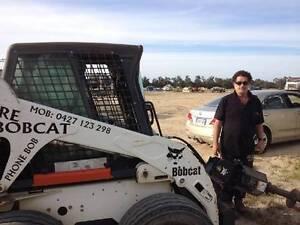 BOBCAT, EXCAVATOR, STUMP GRINDING, TRUCK & OPERATOR FOR HIRE Baldivis Rockingham Area Preview