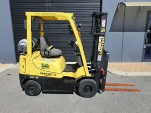 Hyster 1800kg LPG Forklift with 3000mm Mast & Sideshift Malaga Swan Area Preview