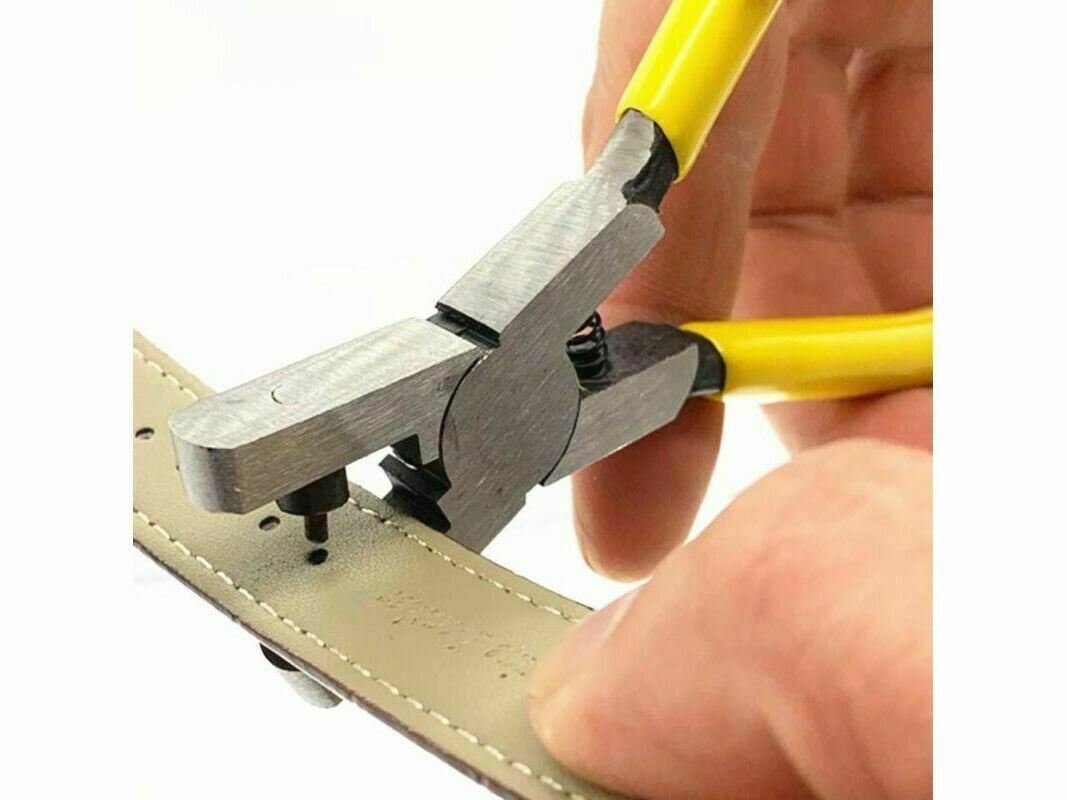 Watch Hole Punch Plier Eyelet Leather Hand Repair Tools Band Strap Link Belt Jewelry & Watches