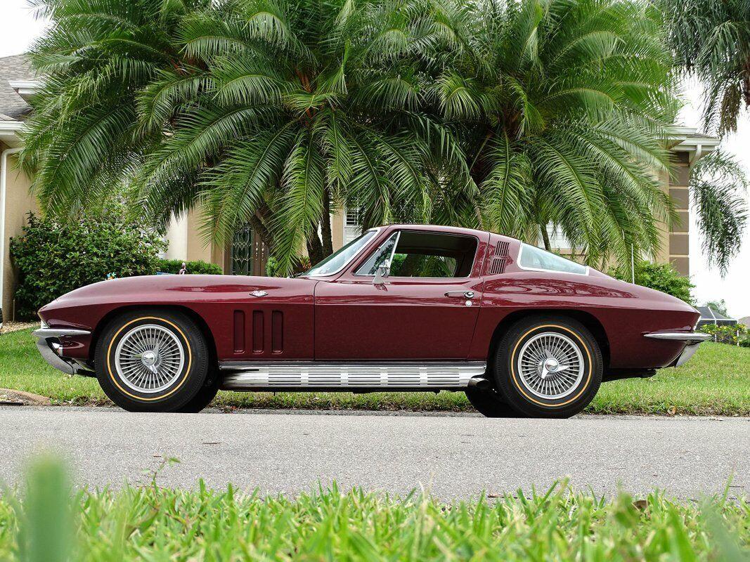 1965 Milano Maroon Chevrolet Corvette Stingray  | C2 Corvette Photo 8