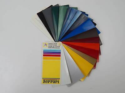 Ferrari 1980s Glasurit Paint Sample Swatch 308 328