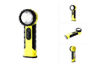 ATEX LED Knickkopf-Handlampe IP54 für BOS, Feuerwehr, Industrie, Rettungsdienst