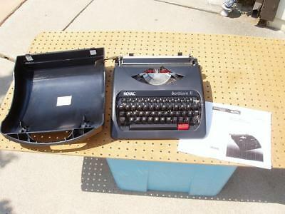 Royal Scrittore Ii Manual Typewriter Black Good Condition