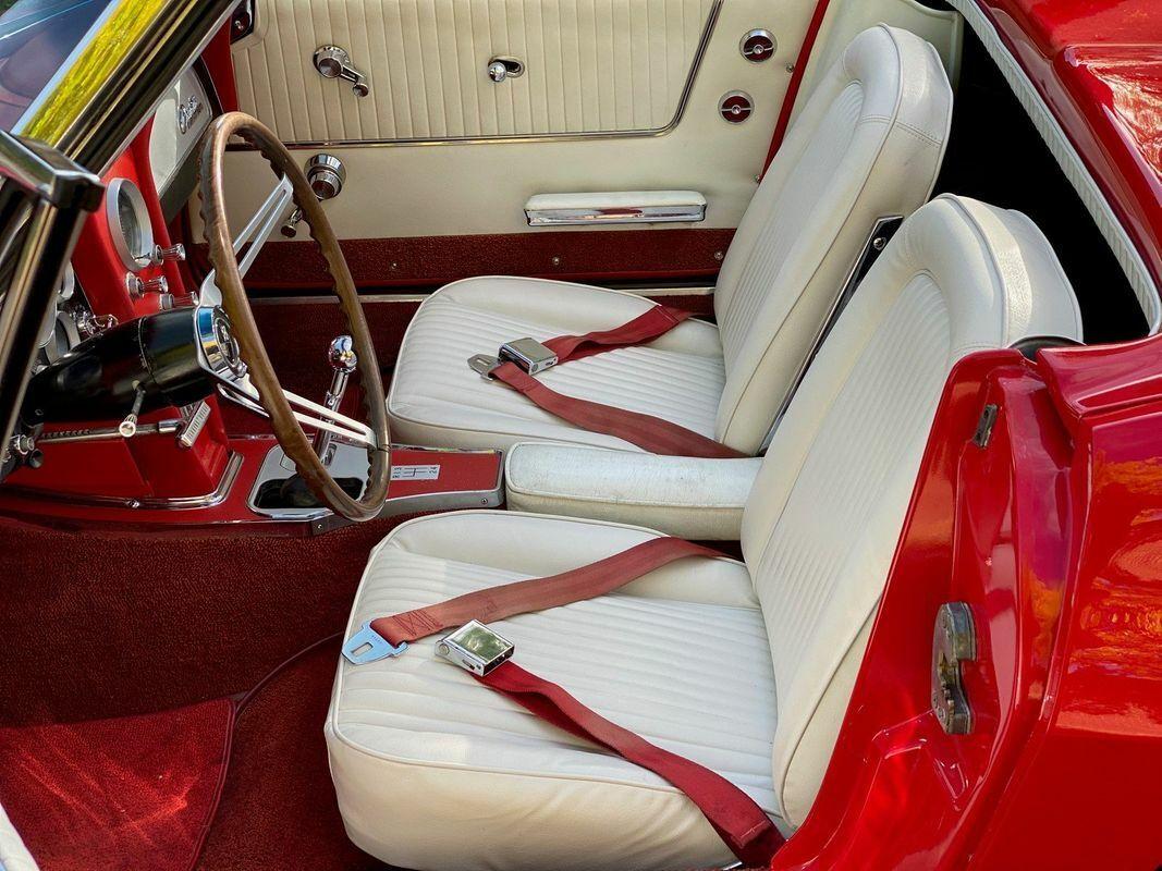 1964 Red Chevrolet Corvette Convertible    C2 Corvette Photo 6