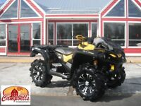 2015 CAN-AM OUTLANDER XMR RAD RELOCATE!! BACK STORAGE!! GORILLA  Moncton New Brunswick Preview