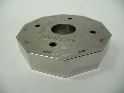 Hilger Watts 10sid 36deg Polygon For Autocollimator Microoptic Alignment Laser
