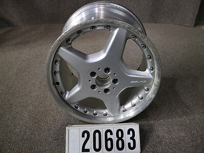 "1Stk. AMG Styling III Mercedes Alufelge 9,5Jx19"" ET46 Mehrteilig 2-Teilig#20683"