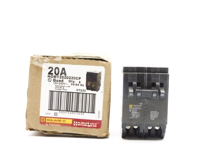 SQUARE D HOMT2020220CP 20A 120/240V (PKG OF 5) NSMP
