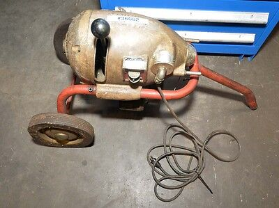 Ridgid K-75 Sectional Drain Cleaning Machine Inv.36062