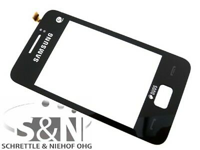 Samsung Star 3 S5220 Touchscreen Scheibe Glas Fenster schwarz Star Touch Screen