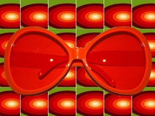 db76ee9dfc40 A571✪ Hippie Brille 60er 70er Jahre Kult Partybrille Schlagerparty ...