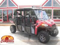 2016 POLARIS RANGER CREW XP 6 SEATER!! WINDSHIELD!! ROOF!! MESH  Moncton New Brunswick Preview
