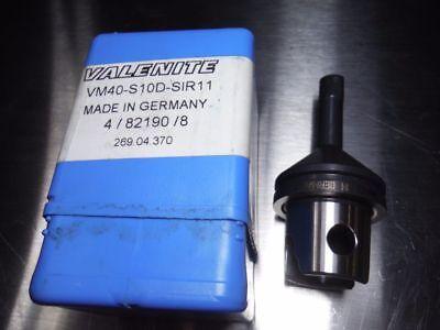 Valenite Km40 Vm40 Internal Threading Bar Vm40 S10d Sir11 Loc964a
