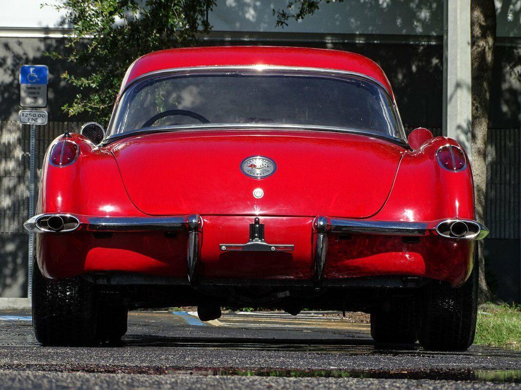 1959 Red Chevrolet Corvette Convertible  | C1 Corvette Photo 10