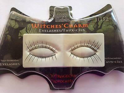 Fantasy Makers Wet N Wild Witches Charm Outrageous False Eyelashes Halloween Cos - Halloween Witches Eye Makeup