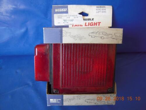 U80 Left//Roadside LED Submersible Tail light Wesbar 7-Function