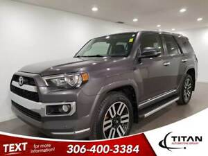 2014 Toyota 4Runner Limited|4x4|CAM|Leather|NAV|Htd Seats
