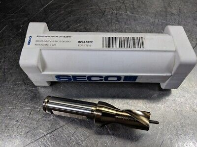 Seco 16mm-16.99mm Indexable Drill Sd101-16.0016.99-25-0625r7 17618 Loc2908c
