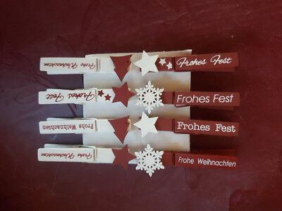 Weihnachtslook von efco , Weihnachtsdeko, Christbaumschmuck (Wäscheklammer Weihnachtsschmuck)