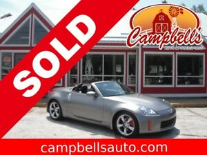 2008 NISSAN 350Z CONVERTIBLE! HEATED LEATHER! AIR! ALLOYS!