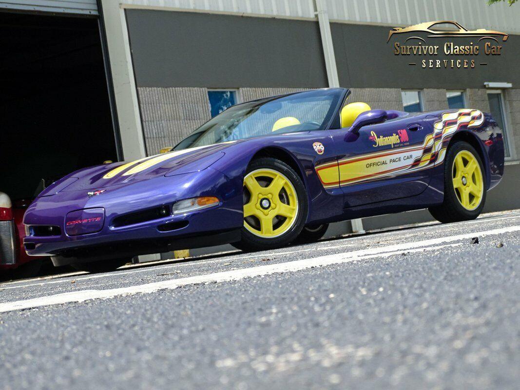 1998 Purple Chevrolet Corvette   | C5 Corvette Photo 1