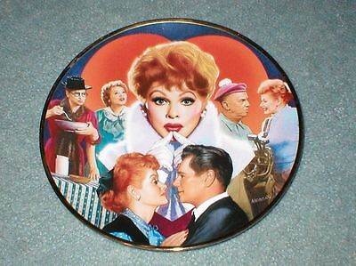 """I Love Lucy Lucille Ball Official Commemorative Hamilton Plate """"LUCY"""" with COA"""