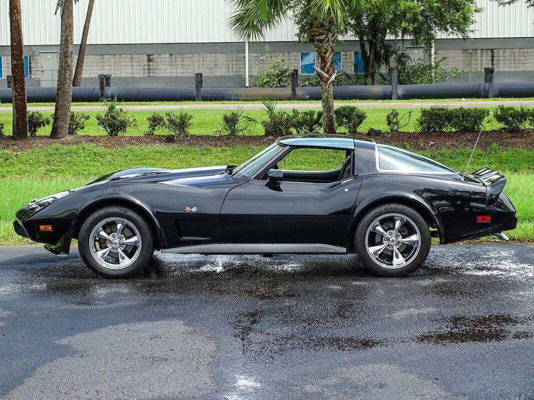 1978 Black Chevrolet Corvette Stingray  | C3 Corvette Photo 10
