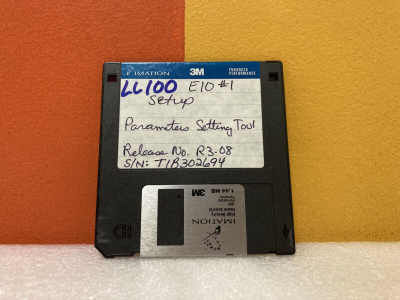 LL100 Parameter Setting Tools Floppy Disk Software