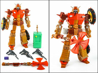 New Transformers KFC EAVI METAL PHASE 6 Crash hog Figure Toy  IN Stock