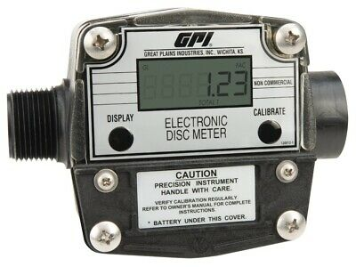 Gpi Fm-300h-g8n 1 2-20 Gpm Electronic Chemical Meter