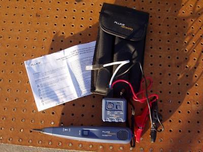 Fluke Networks Pro 3000 Toner Probe Kit With Soft Case Instructions Exc Cond