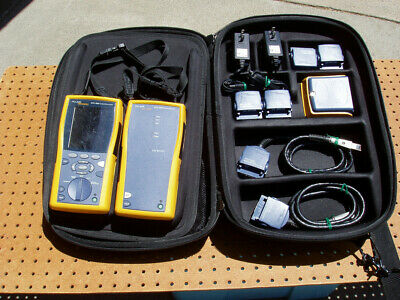 Fluke Networks Dtx-1800 Cable Analyzer Kit Set Recent Calibration Issue