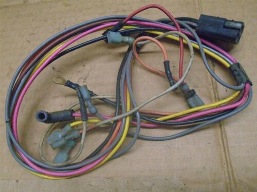 Dashboard Instrument Harness, Volvo Penta AQ131A off of 1988 Invader