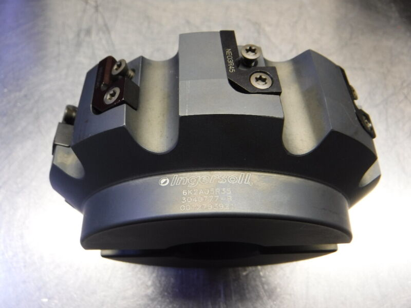 """Ingersoll 5"""" Indexable Facemill 1.5"""" Arbor 6K2A05R35 (LOC1328C)"""