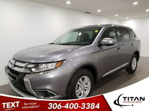 2018 Mitsubishi Outlander ES|AWD|CAM|Htd Seats|Alloys