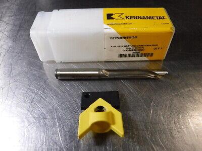 Kennametal 9.5mm-9.99mm Kentip Drill 10mm Shank Ktip095r5ss10m Loc1325a