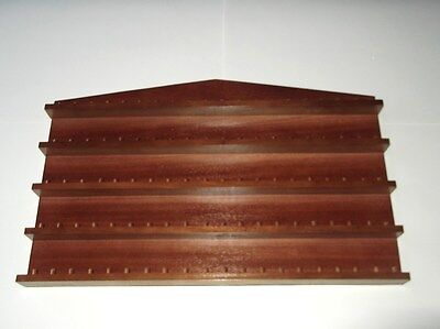 100pc Wooden Thimble Display Rack ( Mahogany ) ( huge range - see description )