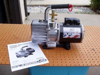 Just Better 2-stage Direct Drive 7 Cfm Vacuum Pump Model Dv-200n U.s.a. Unused