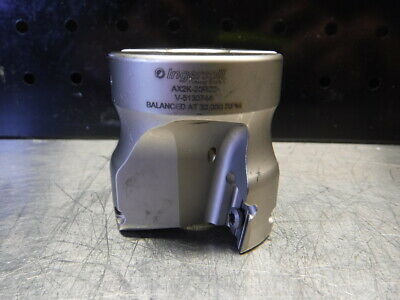 Ingersoll 2 Indexable Facemill 34 Arbor Ax2k-20r02 Loc2737a