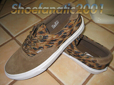 Vans Sample Era 59 9 Italian Weave Teak Brown Suede Supreme Skateboarding