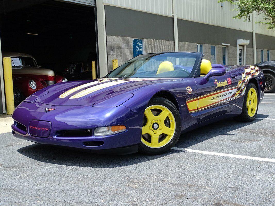 1998 Purple Chevrolet Corvette   | C5 Corvette Photo 4