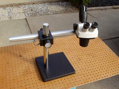 Bausch Lomb Stereo Zoom 6 Microscope Boom Stand No Lenses Good Condition